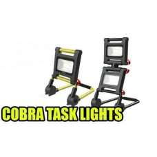 LED 2 X 8W Twin Recharge Cobra Task