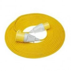 Yellow 110V 16A 2.5mm Site Extension Leads