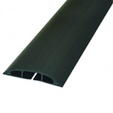 1.8m Light Duty Floor Cable Cover Blk 60mm
