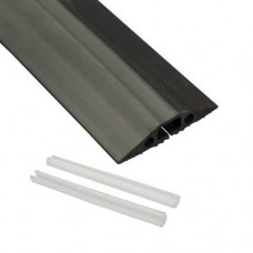 9m Floor Cable Cover Blk 83mm