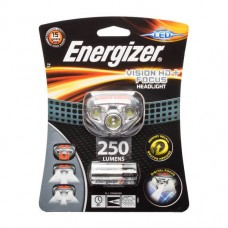 Energizer 250 Lumens Head Torch (Black)