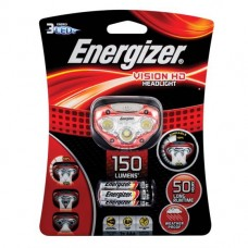 Energizer 150 Lumens Head Torch (Red)