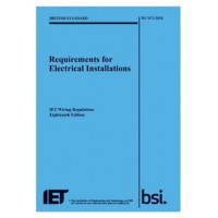 IET Wiring Regulations 18th Edition BS7671 2018  **Pre Order**