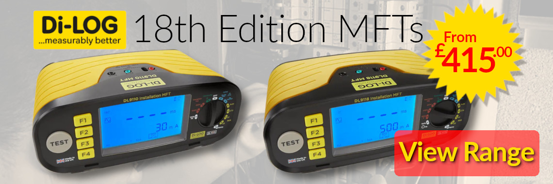 Di-Log 18th Edition Multifunction Testers