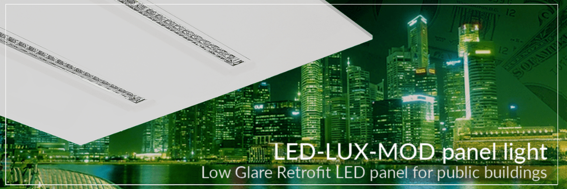 LED Panel Low Glare