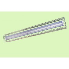 Wire Guard for Fluorescent Strip-light