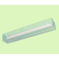Rectangular Wire Guard for Tubular Heaters