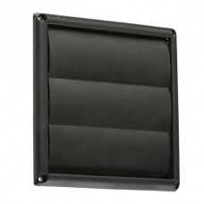 100mm 4 inch Gravity Shutter - Black
