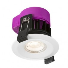 230V IP65 6W Fire-rated LED Dimmable Downlight 3000K