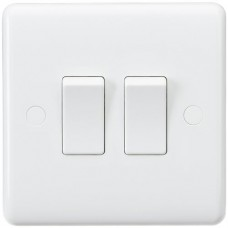 Curved Edge 10A 2G 2-Way Switch