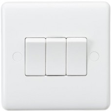 Curved Edge 10A 3G 2-Way Switch