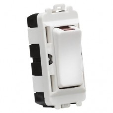 20AX DP module with LED indicator - white