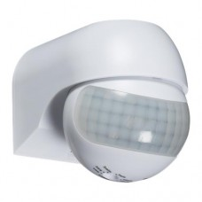 IP44 180° Mini PIR Sensor - White