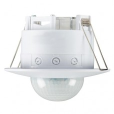 IP20 Wide Range  360° PIR Sensor - Recess Mounting