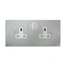TASS 13A Twin Switched Socket (TAFB3)