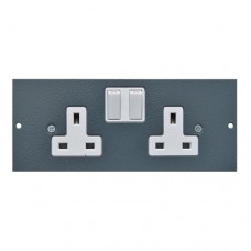 Tass 13A Twin Switched Socket (TAFB3S)