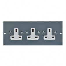 Tass Triple Unswitched Sockets (TAFB3S)