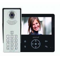 Colour Video Door Entry Keypad System with Record Facility