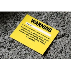 Missing Circuit Protective Conductor Warning Labels (Non-Registered)