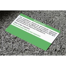 Periodic Inspection and Test labels (Reg 514-12-01) x50
