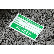 PAT Test labels (passed) x500 (without the NICEIC logo)