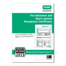 Fire Detection & Alarm System Acceptance Certs (Green)