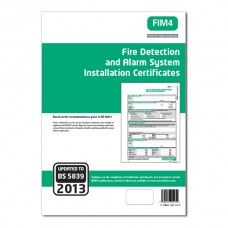 Fire Detection And Alarm System Installation Certificates (Green)