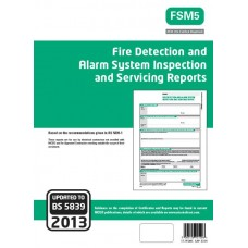 Fire Detection And Alarm System Servicing Certificates (Green)