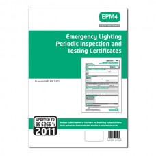 Emergency lighting Periodic Inspection and Testing Certificates (Green)