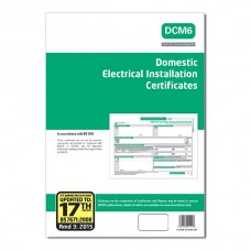 Domestic Electrical Installation Certificates 17th Edition 3rd Amendment - ALL