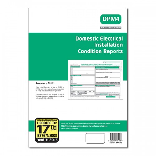 Domestic Electrical Installation Report 17th Edition