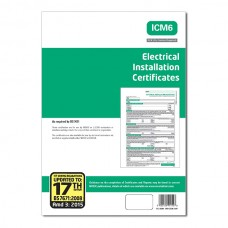 Electrical Installation Certificates 17th Edition 3rd Amendment - ALL