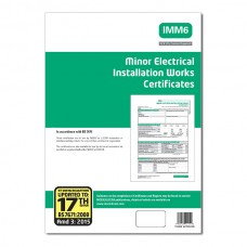 Minor Electrical Works Certificates 17th Edition 3rd Amendment - ALL
