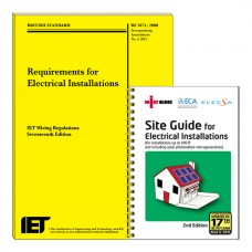 Bundle 1: IET REGS Book + NICEIC Site Guide 17/3 17th Edition