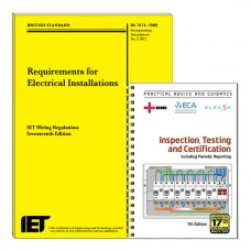 Bundle 2: IET REGS Book + NICEIC ITC 17/3 17th Edition