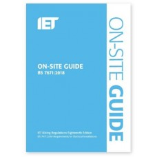 IET On-Site Guide 2018 BS 7671:2018  **Pre Order**