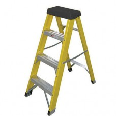 Elex Fibreglass Step Ladder Grp 4 Step