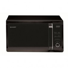 20L 800W Freestanding Microwave With Grill in Black