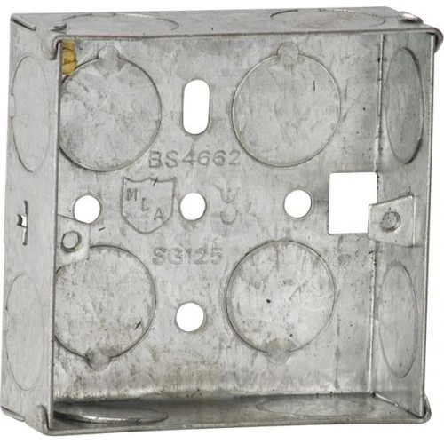 Galvanised Steel Boxes