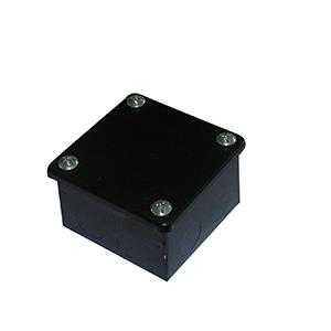 Black Plain Adaptable Box