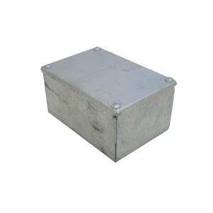 Galv Plain Adaptable Box