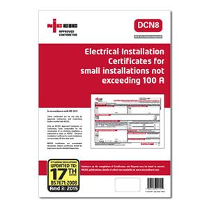 NICEIC Certificates & Other Log Books