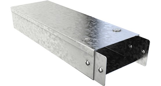 Metal Trunking - Galvanised Trunking